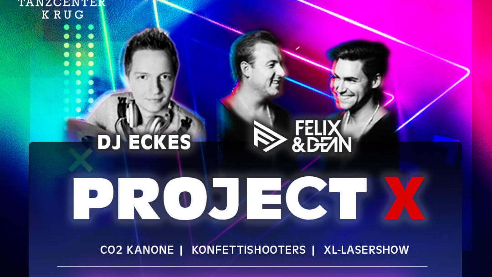 PROJECT-X Party Tanzcenter Krug Breitenlesau Instagram
